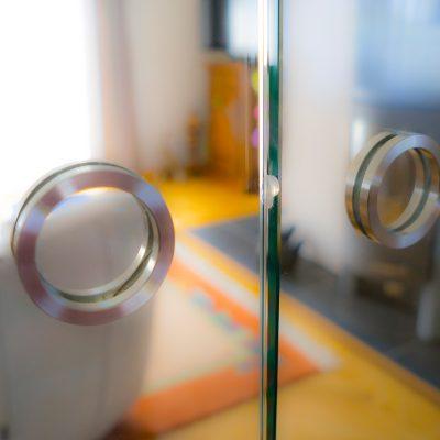 Glassschiebetür - Griffe 2